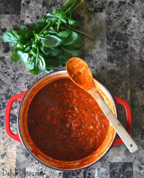 Chunky Garden Style Marinara Sauce Paperblog