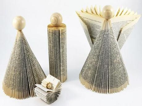 Recycled Paper Nativity Set