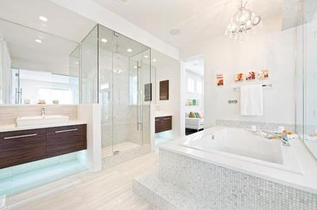 2011 Stampede Dream Home Modern Bath