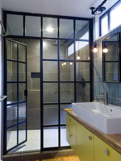 Large Window Bathroom Shower