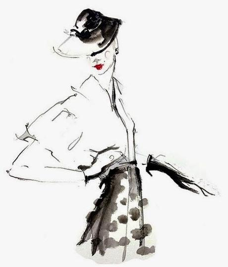 fashion sketch from Katie Rodgers