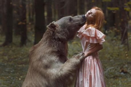 Stunning Portraits With Real Animals By Katerina Plotnikova
