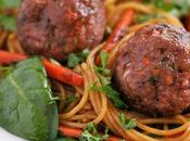 Good Recipe Turkey Meatballs with Asian Style Noodles