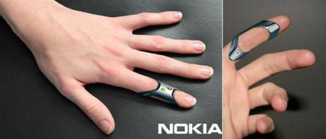 Nokia FIT   Phone on Your Finger Tips