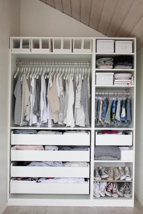making the most of a small closet 2