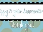 Happy 3-Year Anniversary!