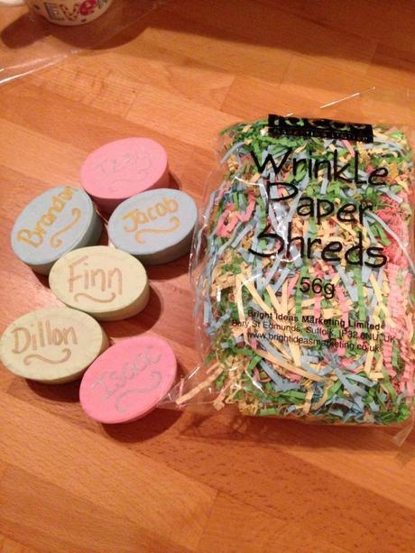Crafting for Isabelle's birthday party with Baker Ross