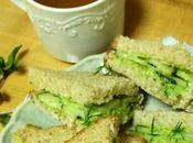 Cucumber Avocado Sandwiches
