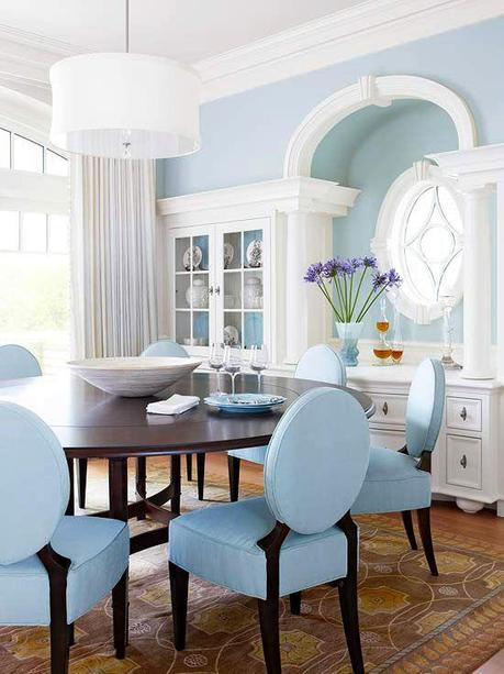 Design inspirations a touch of blue and white paperblog for Table design using jsp
