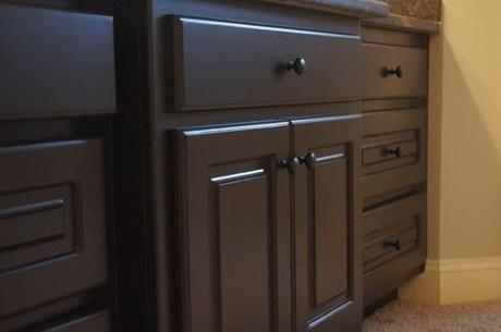 Update Your Bathroom Cabinets For Under Paperblog - Refinish a bathroom