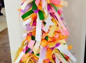 DIY: Step-by-Step Easter Spring Ribbon Tree.