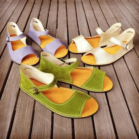 New Adult Solstice Sandal from Soft Star Shoes! Handmade in Oregon.