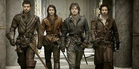 ALL FOR ONE AND ONE FOR ALL, THE MUSKETEERS CHARMED US ALL