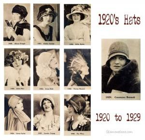 aa076aeea5f A 1920s Cloche Hat Timeline – 1920 to 1929 - Paperblog