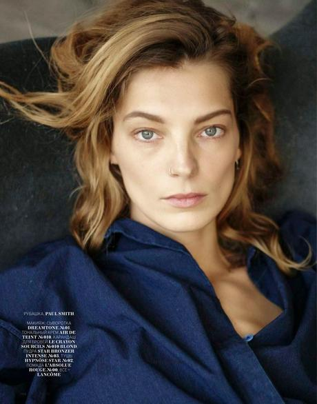 Daria Werbowy For Marie Claire Magazine, Russia, May 2014