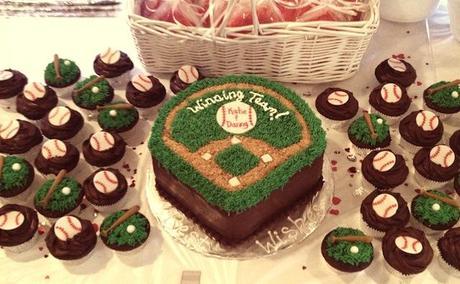 baseball themed bridal shower cake bridal_shower_sports_cake