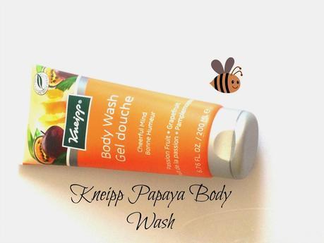 Kneipp Papaya Body Wash Reviews