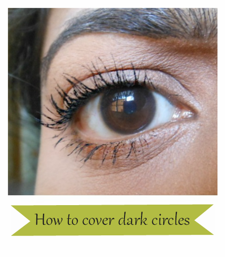 Tutorial : How to cover dark circles using Stick Concealer
