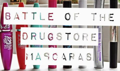 Battle of The Drugstore Mascaras: Maybelline One by One