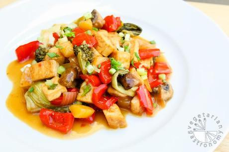 VG sweet and sour vegetable tofu-10