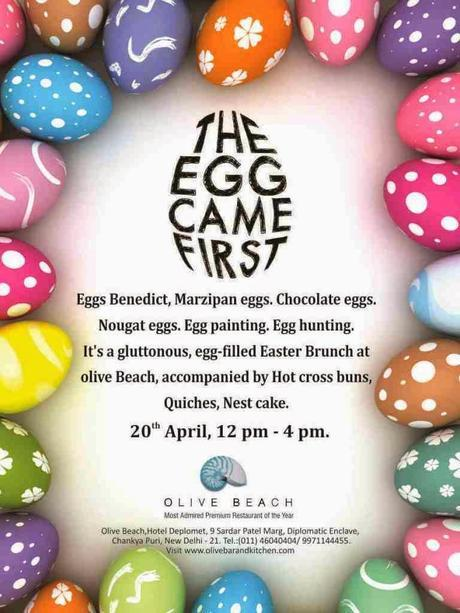 Gluttonous Egg Filled Easter Brunch at  Olive Beach 20th April - The  Egg Came First