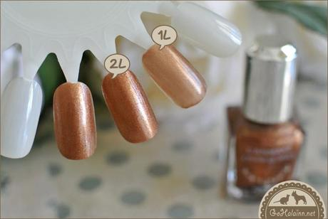 Review: Canmake Colorful Nails #52 Sandy Brown