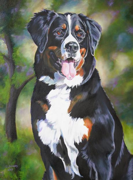 Pet portrait artist honors pets
