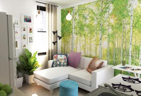 Studio Apartment Decor tiny studio apartment decoration - paperblog