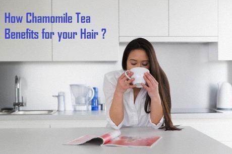 Chamomile tea benefits Hair