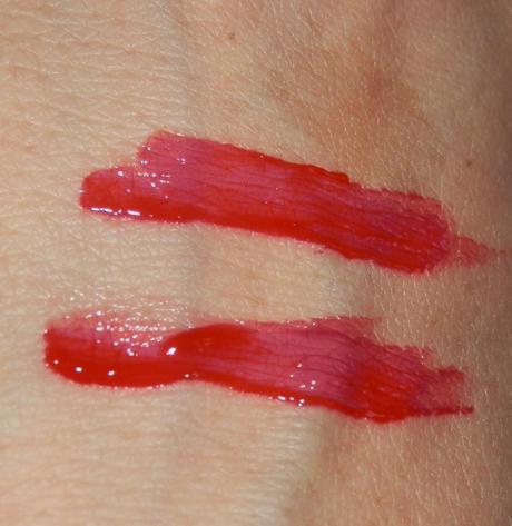 Gosh Lip Balm Hot Lips Swatches