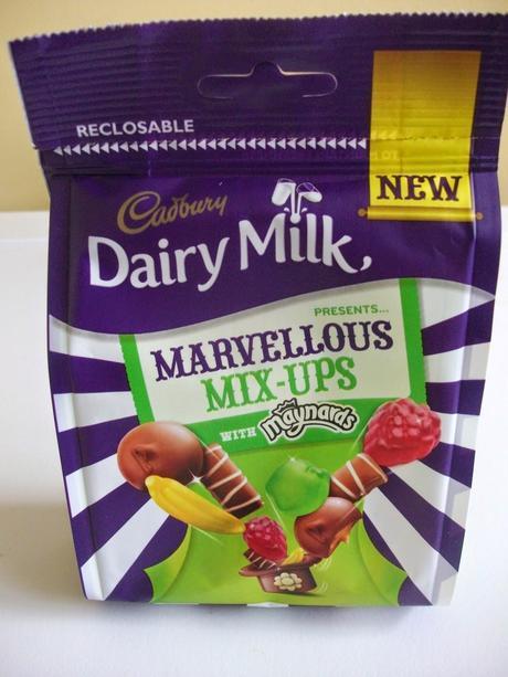 cadbury dairy milk marvelous mix-ups with maynards jellies