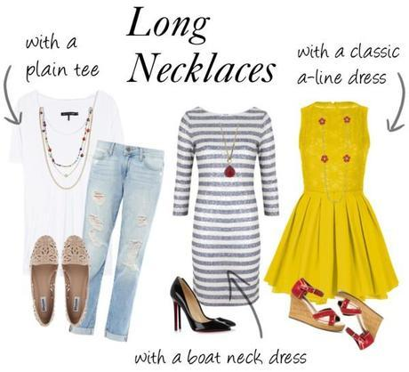 0e15d6c5fef Fashion Tip: What to Wear with Long Necklaces - Paperblog