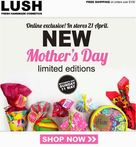 Lush : Mother's Day Limited Editions