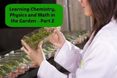 Learning Chemistry, Physics and Math in the Garden – Part 2 | LazyHippieMama.com