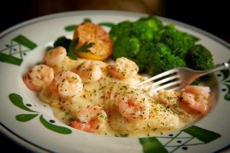 Fish Fridays: Celebrating Lent with Baked Tilapia with Shrimp from Olive Garden {Recipe}