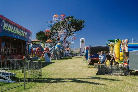Fun park in New Brighton, Christchurch