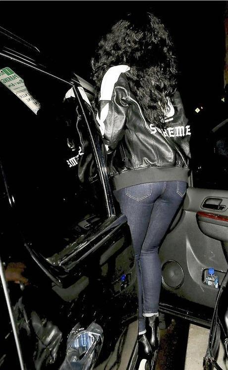 Rihanna Out & About