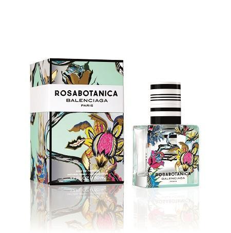 Rosabotanica the second flower for Balenciaga