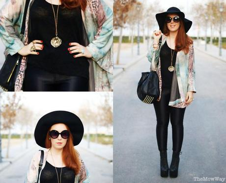 TheMowWay.com  - Kimono and floppy hat (Outfit)