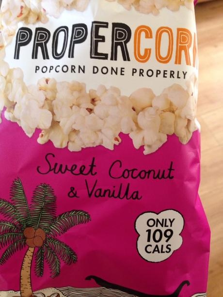 Sweet Coconut and Vanilla Propercorn