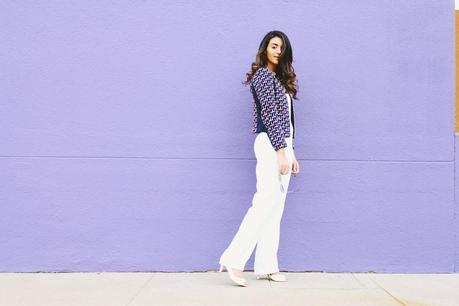 H&M, white jumpsuit, jumpsuit, H&M Conscious Collection