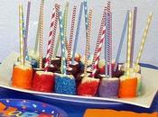 Dipped Marshmallow Pops Birthday Party