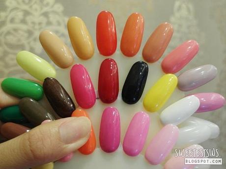 Neon Rainbow Aztec Print Gellyfit Nails By Nailz Treats Bedok Mall Paperblog