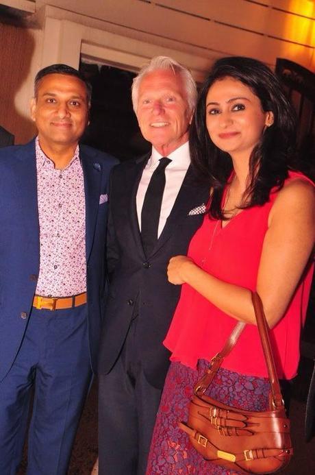 Sunil Agarwal, Enzo and Surabhi Negi - Zegna Evening at Dramz Lounge & Bar, New Delhi