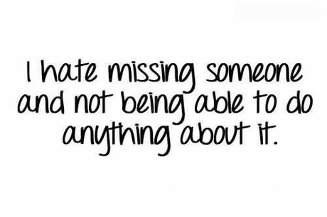 Missing Someone Quotes Paperblog