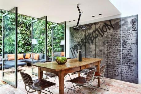 inspiration board | graffiti + interiors
