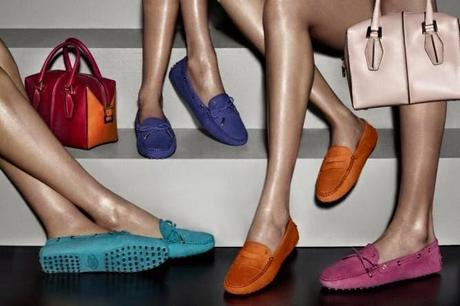 Tod's Gommino Spring/Summer 2014 Ad Campaign