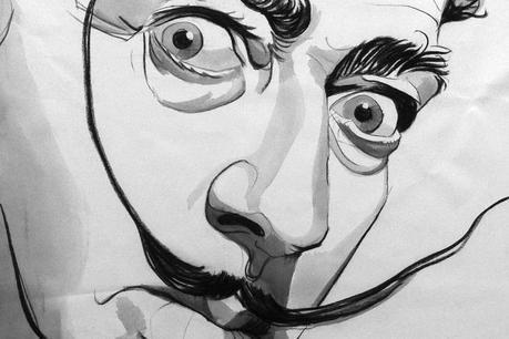 Artist Harriette Thomas Celebrates Pop Culture in Charcoal