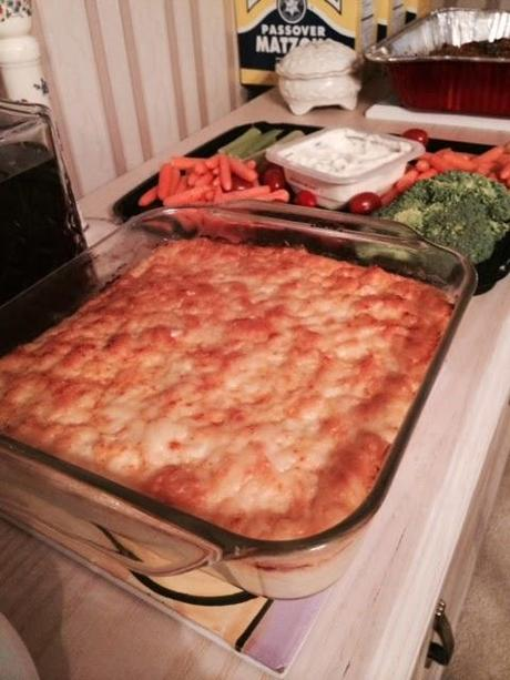 Cauliflower Gratin with Horseradish Cheddar Cheese