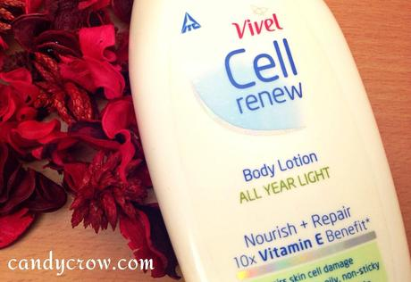 Vivel Cell Renew Body Lotion - All year Light Review
